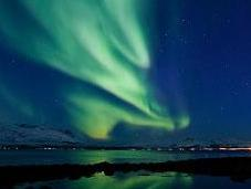 Aurore boréale norvégienne