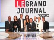 Grand Journal Canal Plus soir Michel Denisot reçoit Alassane Ouattara Alain Delon