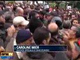 Tunisie Vidéo morts, manifestations Tunis capitale