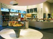 Galeries Lafayette ouvert restaurant organic!