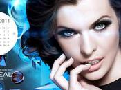nouveau calendrier l'Oréal Paris 2011.