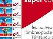 timbres à l'éffigie Mario Bros