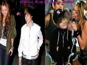 Justin Bieber Miley Cyrus copine, rien plus