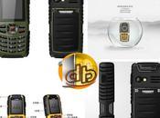 Téléphone Extreme Etanche,resistant poussière,aux chocs,aux chutes,Bluetooth avec sans