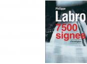 Livre Philippe Labro 7500 signes
