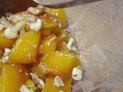 Kabak Tathsi courge confite noix comme dessert turc