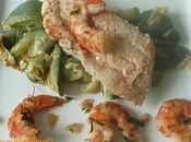 filet chimère soupçon paprika courgette