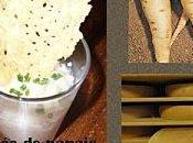 Purée panais cannelle avec chips gruyère