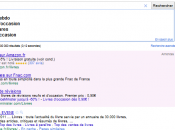 Avis consommateurs dans annonces Adwords dispos Google.fr