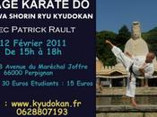 Buzz Stage Karate Shorin Perpignan