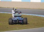 Nico Rosberg pied