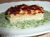 Flan poisson crème cresson