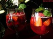 Coupes fruits rouges champagne