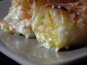 Cannelloni saumon poireaux.