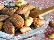 Spicy Roasted Nuts Mélanges noix grillées épicées