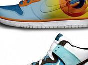 Nike Sneakers couleurs Twitter, Google Firefox