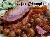 Roti Porc Champignons Epicés