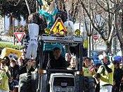 Dimanche février Cavalcade dans rues Prades