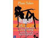 Blonde attitude Plum Sykes