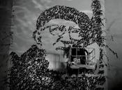 Street-Art Hommage typographique l'abbé pierre JonOne