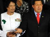 Hugo Chavez porte défense Kadhafi sociaux-démocrates sont dénoncer même titre socialo-fascistes