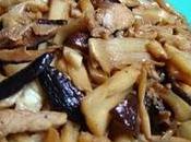 Pousses bambou champignons 香菇冬笋 xiānggū dōngsǔn
