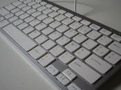 clavier mini design touch silver
