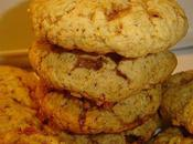 Cookies pommes,flocons d'avoine bonbons caramel