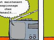 Georges, espionnage Renault