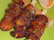 Bananes (plantains) frites sucre canne parfumé