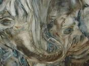 Eléphants comptine aussi cette aquarelle