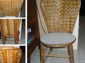 dans chambre P'titgarsauchocolat... chaise récup'
