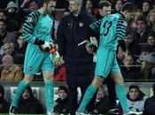 Barcelone Arsenal retour match Ligue Champions d'hier photos