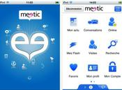 Meetic lance application iPhone