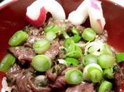 Salade boeuf émincé Thaïlandaise