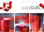 codcub modular design furniture kids room