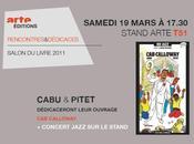 Samedi mars 17h30 Dédicace 'Cab Calloway' Salon Livre