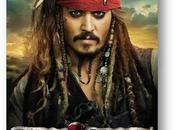 Pirates Caraïbes Jack Sparrow s'affiche