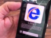 aperçu vidéo d'IE9 pour Windows Phone