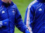 Luxembourg France Ribéry Evra titulaires