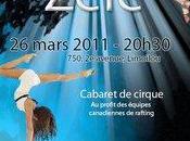 """Spectacle-bénéfice """"Zélé"""" mars 2011 École cirque Québec"""