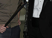 Robert Pattinson Alice Cooper backstage Tonight Show