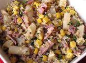 Salade gourmande graines