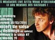 Concert salsa Deldongo quintet mercredi Mars 2011 O'Sullivan's