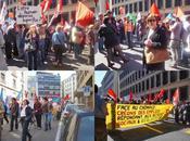 Manifestation pour avoir droit indémnités Cantonales chômage