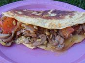 Omelette fourree