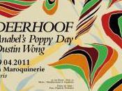 Concours DEERHOOF, Maroquinerie, Avril 2011