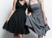 Look 50's robes glamour chez Naf-Naf