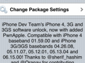 Désimlock iPhone ultrasn0w 1.2.1 pour 4.3.1 disponible Cydia