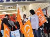 Solidarité avec grévistes Carrefour